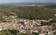 view of aracena from the walk