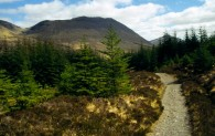 West Highland Way-North of Bridge of Orchy